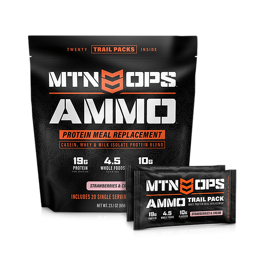 MTN OPS AMMO TRAIL PACKS MEAL REPLACEMENT