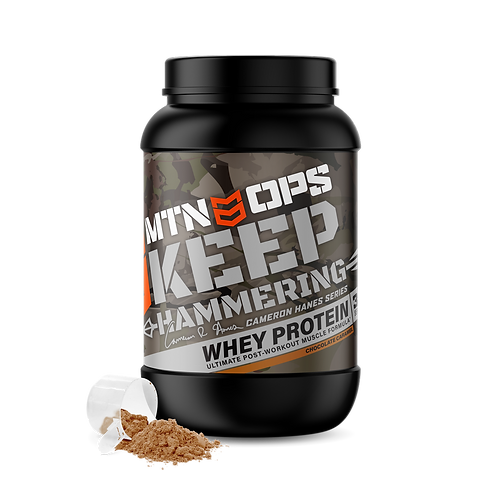 MTN OPS KEEP HAMMERING WHEY PROTEIN