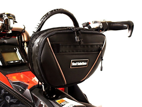 SLED SOLUTIONS Deluxe Carry All with Quick Lock Handlebar Bar Bag