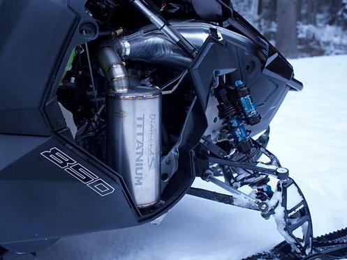 DiamondS Titanium Silencer for Polaris Axys 850