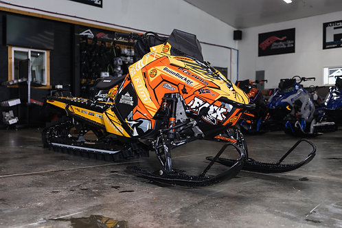 "2021 Polaris Pro RMK 900, 163 2.6"" Short Tunnel"