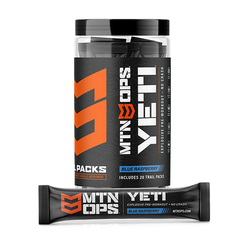 MTN OPS YETI TRAIL PACKS EXPLOSIVE PRE-WORKOUT