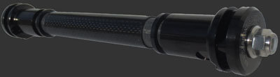 Nextech Carbon Fiber 2 Wheel Axle