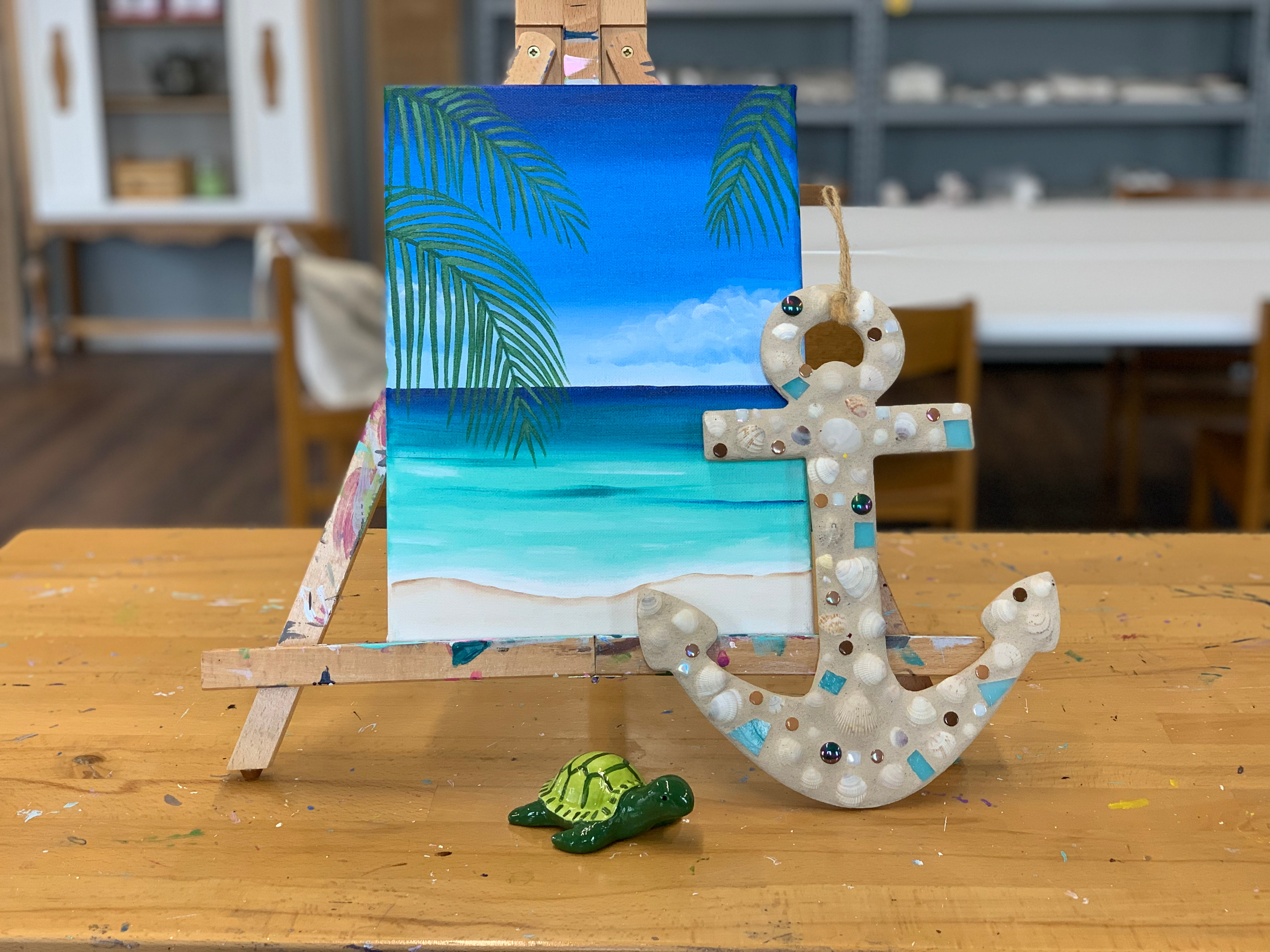 Beach 1\2 Day Art Camp