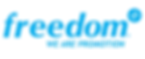 Freedom plus logo final with tagline.png