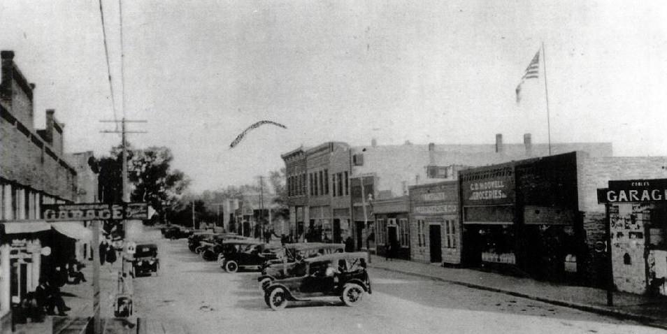 Glasco Main St in 1917