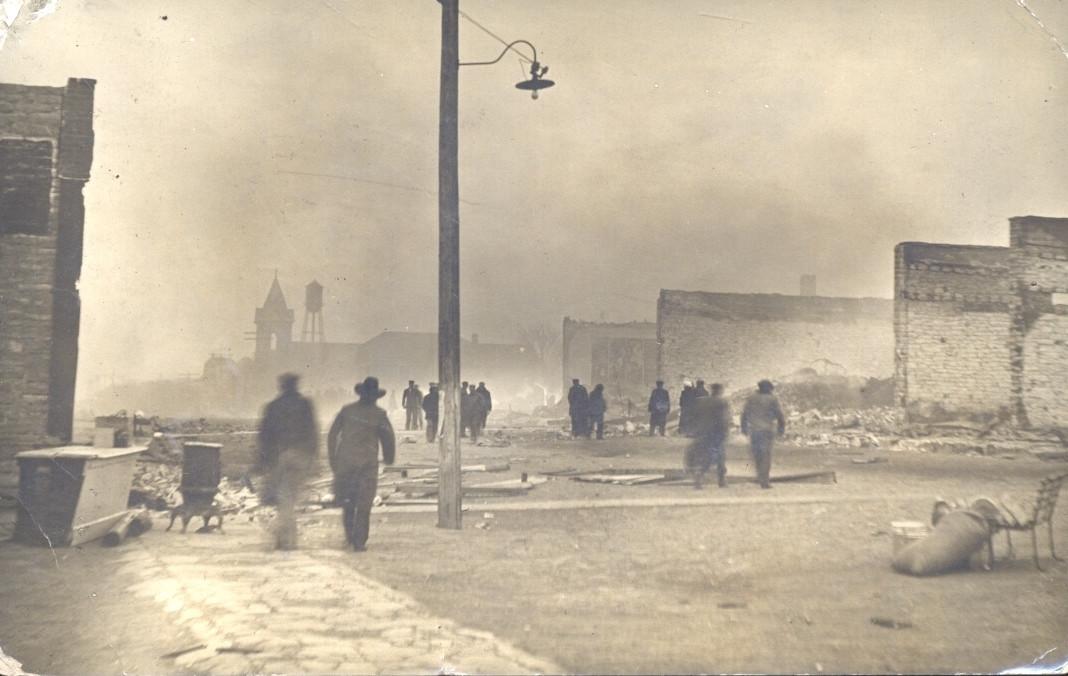 Jamestown After 1911 Fire