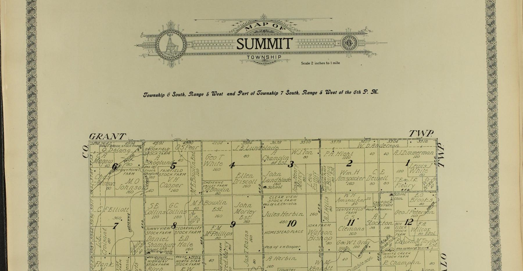 3a: Summit Township North