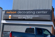 Nelson Decorating Center Sign Replacemen
