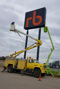 Ritchie Bros Sign Install