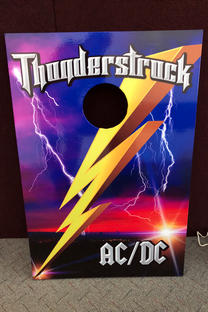 Thunderstruck AC_DC Sign