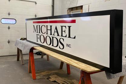Michael Foods Sign