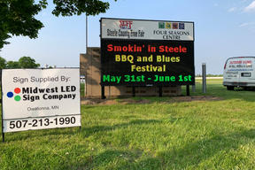 BBQ Festival Sign