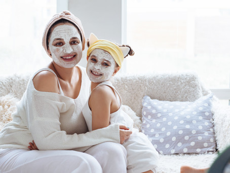 Easy, yummy toddler face mask