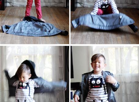 Jacket flip method