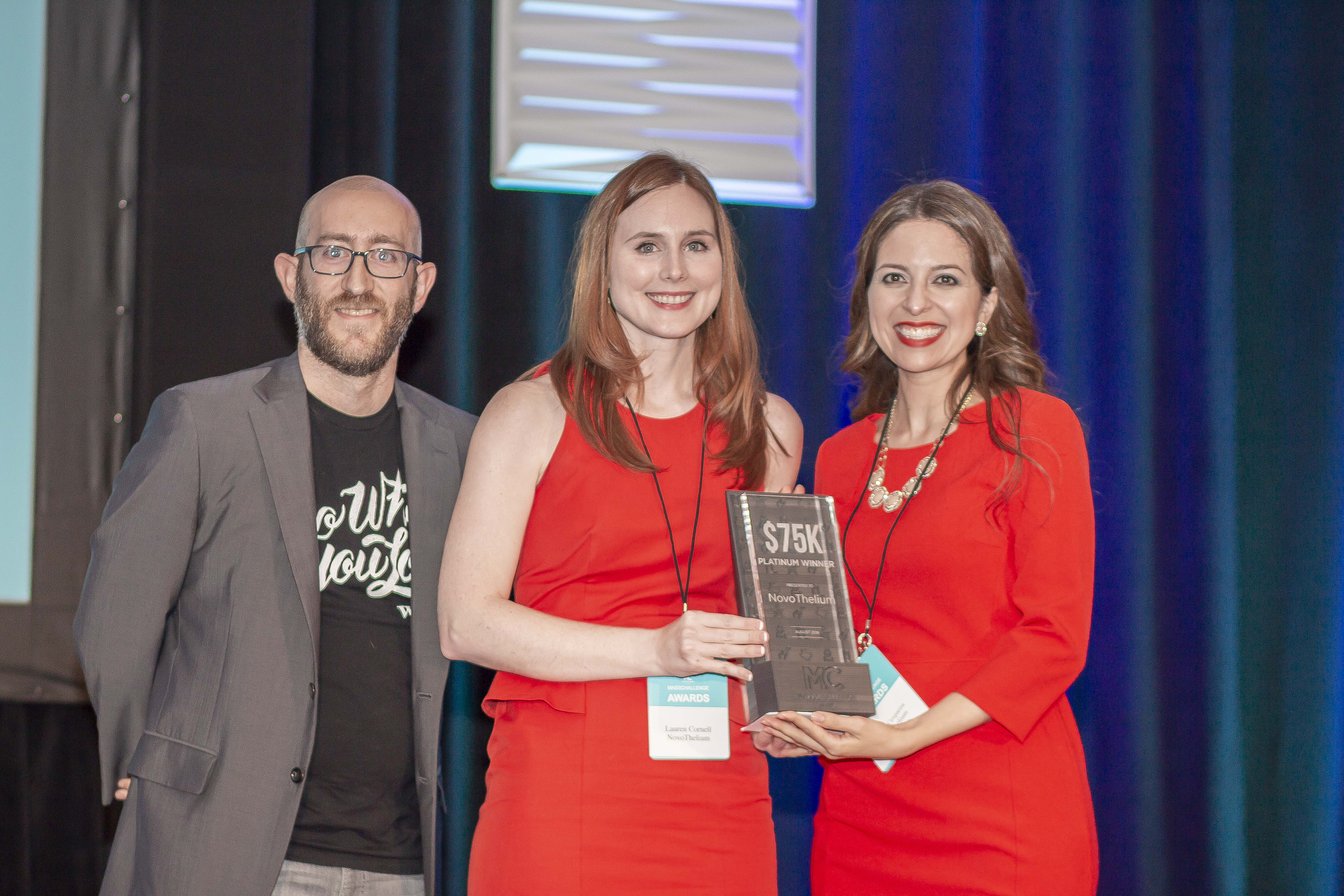 Mass Challenge TX Platinum Award