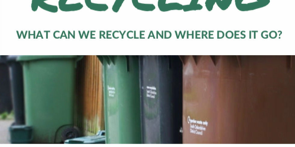 What can we recycle and where does it go?