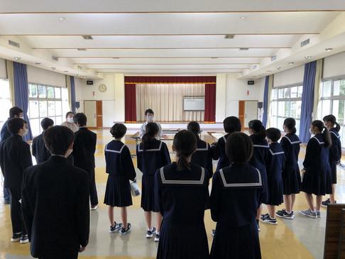 岡本甚左衛門★中学生