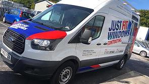 Just Fit Windows Van