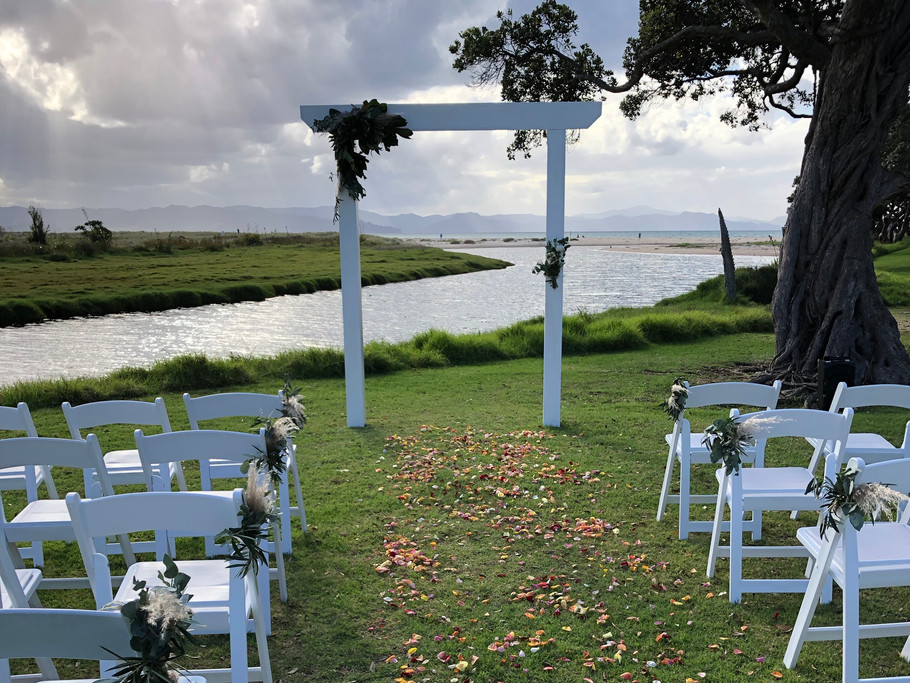 Ceremony Set Up for A + P