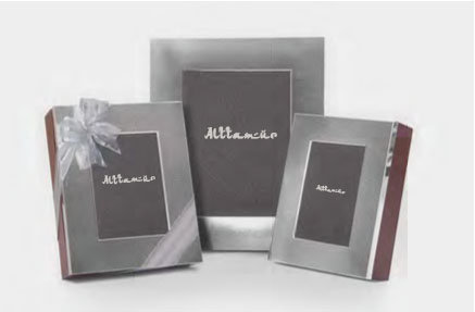 Titanium Silver Photo Frame Box with Assorted Dates