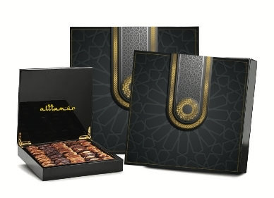 Luxury Darlene Wood Box With Assorted Dates