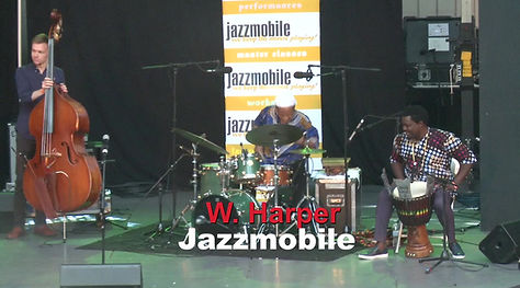 Winard Harper at the Charlie Parker Jazz Festival