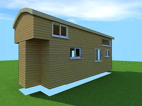 8'x 22' with single loft