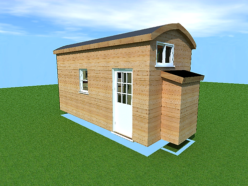 8'x 16' with single loft