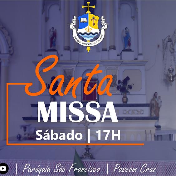 Santa Missa -  Sábado  | 12 de Junho de 2021 | 17h