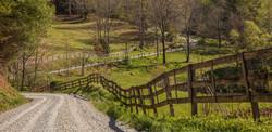 super wide fence