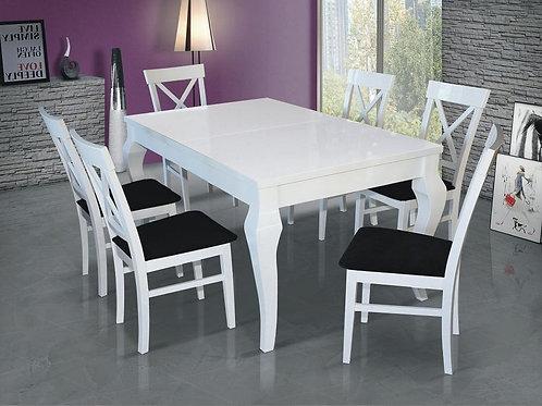 stół FABIO I + 6 krzeseł