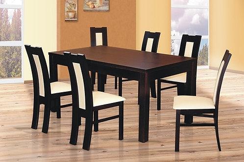 stół HUBERT I + 6 krzeseł