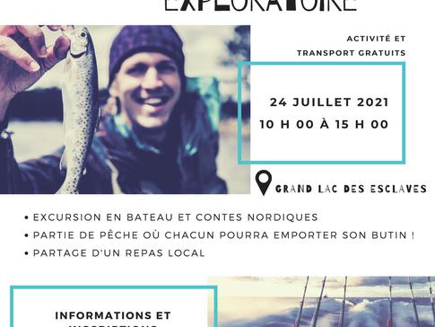 Sortie exploratoire - Grand Lac des Esclaves