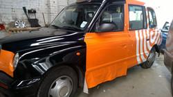 Taxi Wrap mid way through