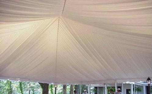 30' x 80' Frame Tent Liner