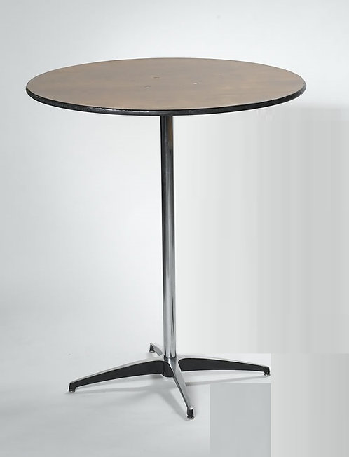 "36"" Round x 42"" High Cocktail Table"