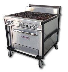 Oven w/ 6 Burner Range