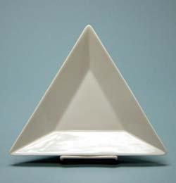 "Triangle Plate 7 1/2"""
