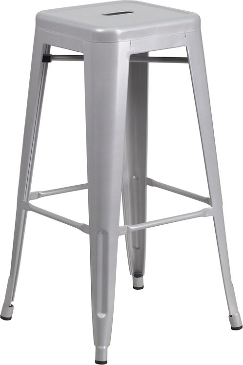 Remington Backless Metal Barstool
