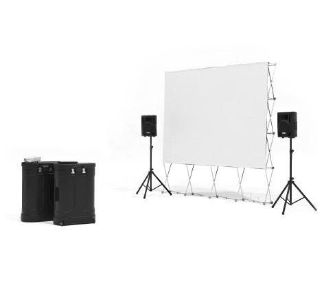 Backyard Movie System