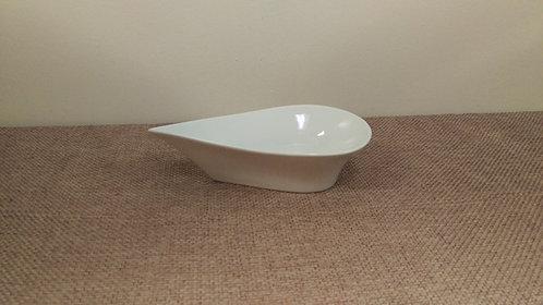 White Teardrop Bowl 8 oz