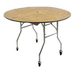 "36"" Round Table Cake Table w/ Wheels"