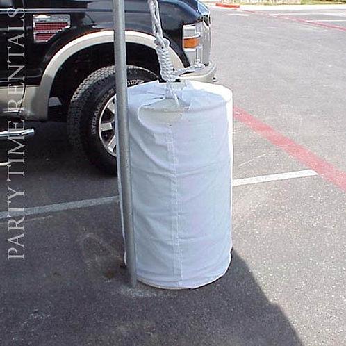 55 Gallon Water Barrel Cover