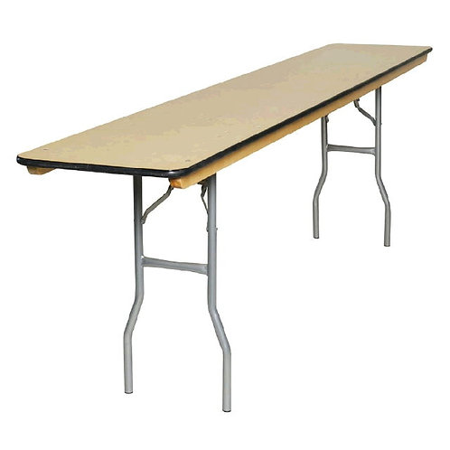 "6'x18"" Rectangular Conference Table - Plywood Top"