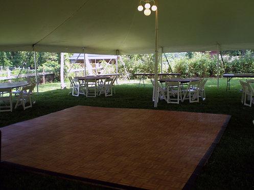 Dance Floor: Teak (3'x 3' Panels)