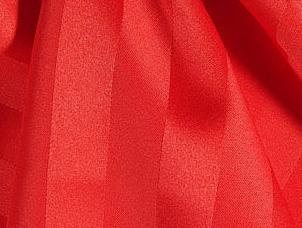 Satin Stripe - Red