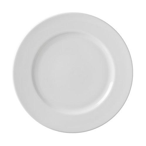 "White China Dinner Plate 10"""