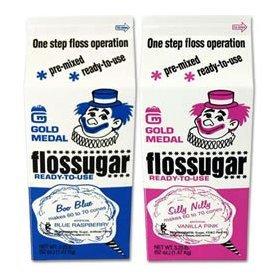 Cotton Candy Sugar Floss  (Serves 60-70)