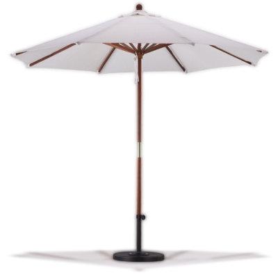 Ivory Canvas Umbrella